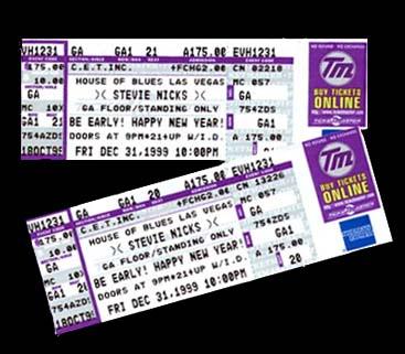Stevie Nicks New Year's Eve tickets