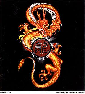 Henna Tattoos Ottawa on 89 King Horse Waterproof And Sweat Tattoo Stickers Male Dragon Totem