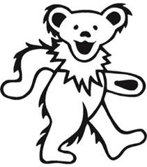 Jerry Bear Grateful Dead Bears Grateful Dead Tattoo