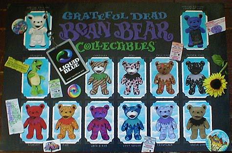Grateful Dead Beanie Bears Grateful Dead Bean Bear