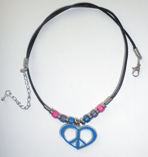 Bisexual pride jewelry