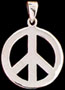 peace jewelry - peace pin - give peace a chance