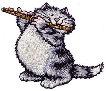 фотографию кот с флейтой картинки система